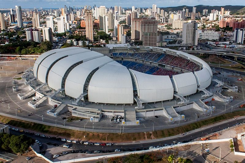 Estadio Das Dunas, Natal